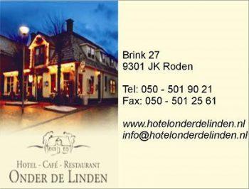 Hotel – cafe – restaurant onder de linden