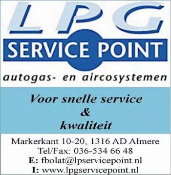 Lpg service point