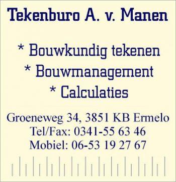 Tekenburo A. van Manen
