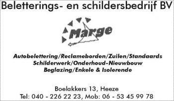 Marge belettering & schildersbedrijf bv