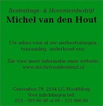 Bestratings- en hoveniersbedrijf michel van den hout