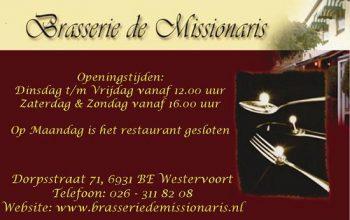 Brasserie de missionaris
