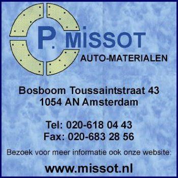 P. missot auto-materialen amsterdam