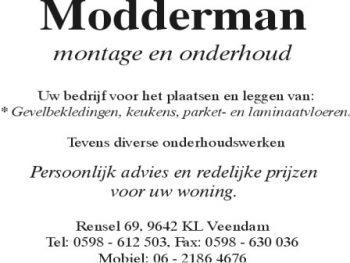 Modderman montage & onderhoud
