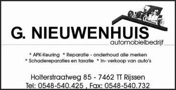 Automobielbedrijf G. Nieuwenhuis