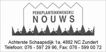 Perkplantenkwekerij nouws