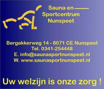Sauna en sportcentrum nunspeet