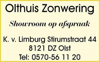 Olthuis zonwering