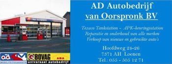 Ad autobedrijf van Oorspronk