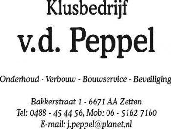 Klusbedrijf v.d. peppel