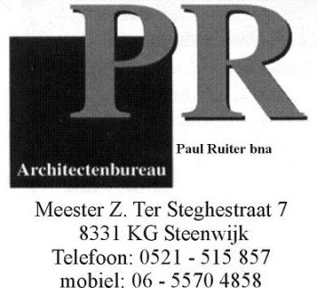 Architectenbureau paul ruiter