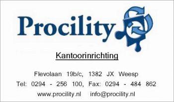 Procility kantoorinrichting