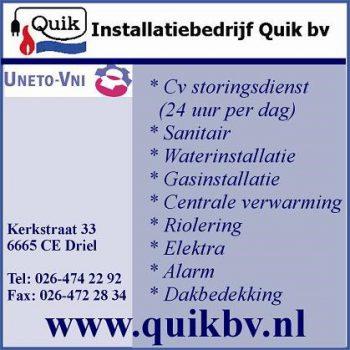 Installatiebedrijf quik bv