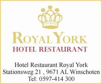 Hotel restaurant royal york