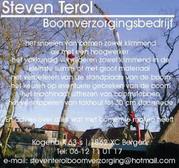 StevenTerol boomverzorgingsbedrijf