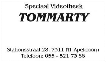 Speciaal videotheek Thommarty