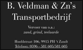 B Veldman en zonen transportbedrijf
