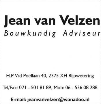 Jean van velzen bouwkundig advieseur