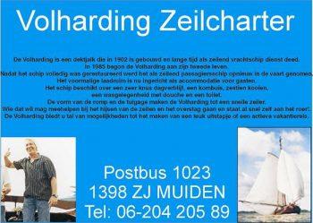 Volharding zeilcharter