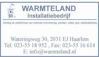 Warmteland installatiebedrijf