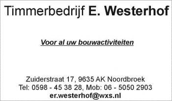 Timmerbedrijf e. westerhof