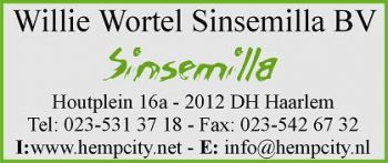 Willie wortel sinsemilla bv