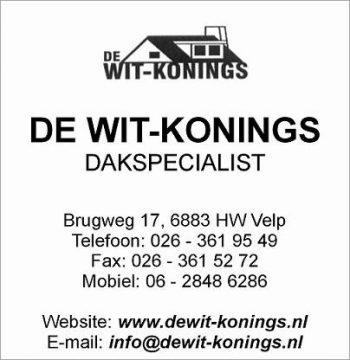 De wit-konings dakspecialist