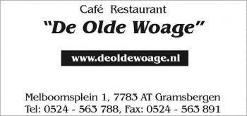 Cafe restaurant de Olde Woage