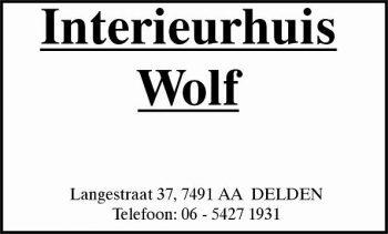 Interieurhuis Wolf