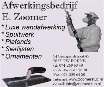 Afwerkingsbedrijf E. Zoomer