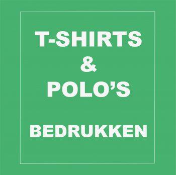 Tshirt en Polo's bedrukken