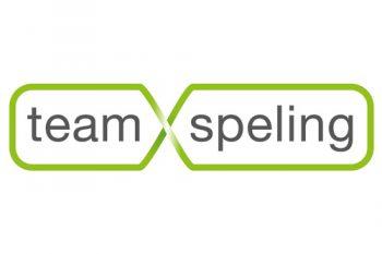 Logo teamspeling. Teambuilding, workshops, bedrijfsdag, teamevent