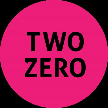 TWO ZERO logo