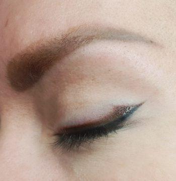 Permanente make-up eyeliner en wenkbrauwen van salon Glance-inside in Tilburg